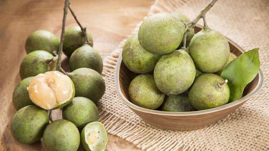 Mamoncillo delicious tropical fruit