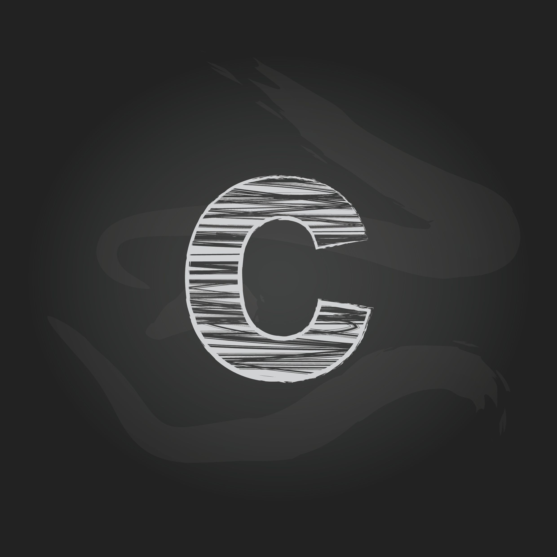 Alphabet C Vector Illustration