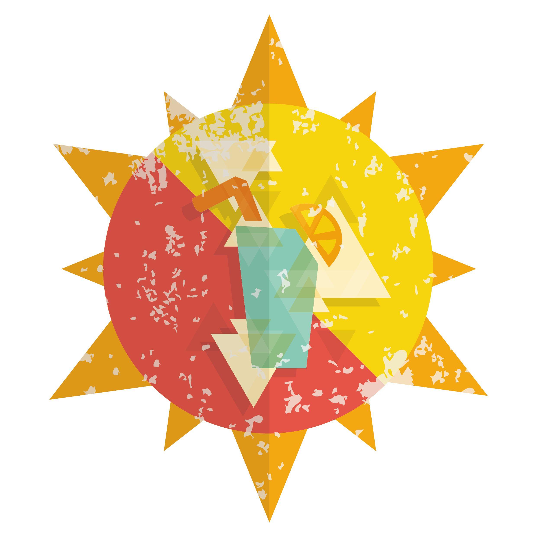 Fruit juice energy icon